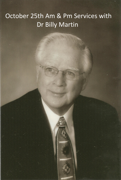 Revival Services with Dr Billy Martin