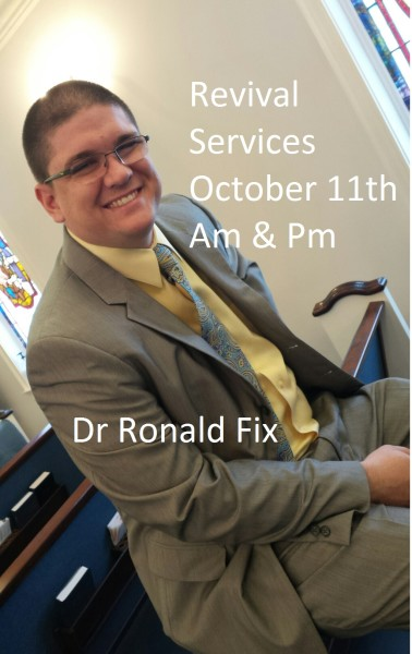 Revival Services with Dr Ronald Fix